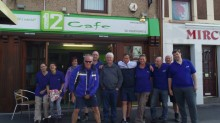 Outside choose life's 12 Cafe in Neath