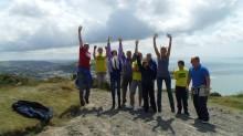 The tour reaches Aberysthwth